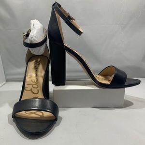 🆕👠Sam Edelman Block Heel Leather Dress Sandal